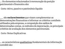 Estrutura das demonstrações contábeis   Exercicio 1 a 10