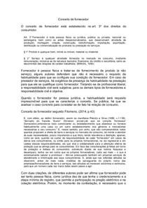 CONCEITO DE FORNECEDOR