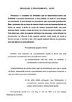 NCPC - Processo e Procedimento