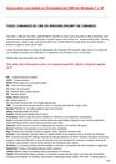 Todos os Comandos do CMD para Windows 7 e XP