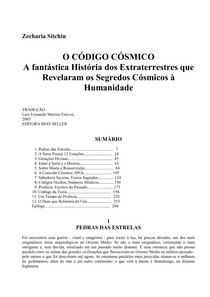 Zecharia Sitchin   O Codigo Cosmico