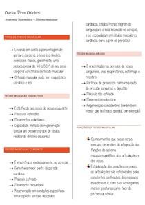 Resumo Anato - Sist Muscular