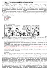 Aap2- TEORIA GERAL DO DIREITO CONSTITUCIONAL