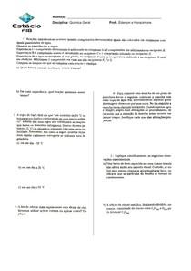 08 - Cinética química - exercícios 1