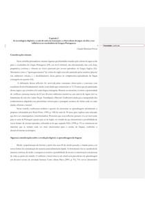 A SALA DE AULA EM TRANSIÇÃO E AS TECNOLOGIAS DIGITAIS