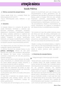 ATENÇÃO BÁSICA COMPLETO