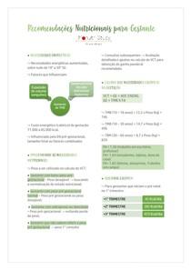 Recomendações Nutricionais para Gestante