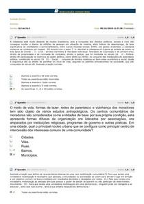 MOBILIZAÇÃO COMUNITÁRIA  AV Parcial