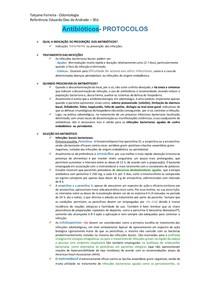 Resumo de indicação dos antibioticos - eduardo