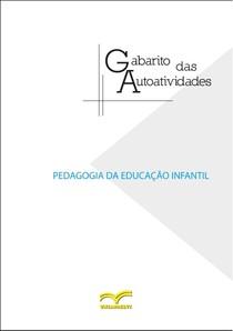 GABARITO PEDAGOGIA DA EDUCAÇÃO INFANTIL
