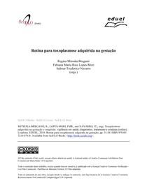 Rotina para toxoplasmose adquirida na gestação 2010