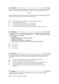 AVALIANDO APRENDIZADO FISIOTERAPIA RESPIRATÓRIA (muitas questões)