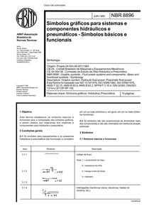 NBR 08896 - Simbolo Grafico para Sistema e Componentes Hidr