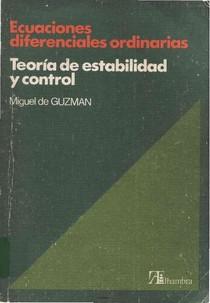 Ecuaciones Diferenciales Ordinarias - Miguel De Guzmán