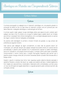 Protocolos clínicos para gestantes e lactantes