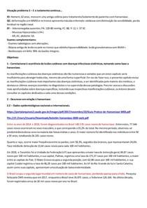 MÓD 3 MANIFESTAÇÕES EXTERNAS DAS DOENÇAS E IATROGENIAS 8ª FASE SP 2 HANSENÍASE