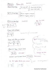 A2 Resumo -  Mecânica 1 Castellani UVA
