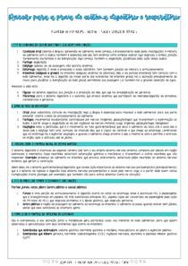 Revisão prova N2 - Função de Disfunção II - Anhembi Morumbi