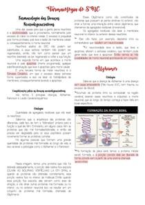 Farmacologia do SNC - Alzheimer