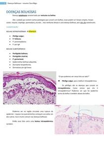 Doenças Bolhosas (Intradérmicas e Subdérmicas)