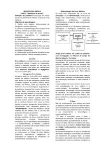 Deontologia Médica - Erro Médico