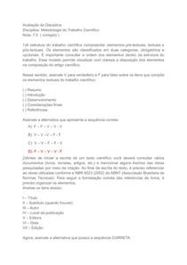 Metodologia do trabalho científico completo