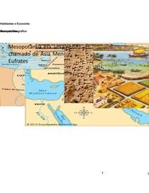 Mesopotâmia - Rio Tigres e Eufrates