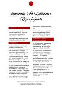 Intoxicação por Carbamato e Organofosforado - 01/2021 - Prof. Filiphe