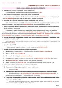 LSITA 3 - exercícios imunologia