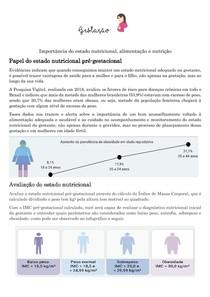 Avaliação nutricional na gestação
