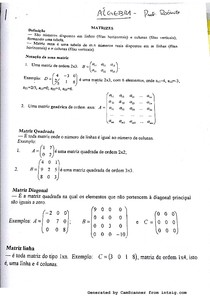 Algebra Linear - Matrizes