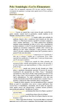 Pele e Lesões Elementares