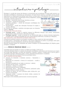 Introdução patologia geral