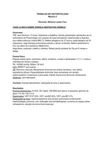 Histopatologia DPOC
