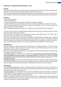 TUBERCULOSE - Doenças Infectocontagiosas