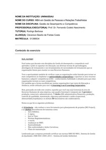 ATIVIDADE CONTEXTUALIZADA - AOL05