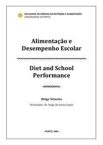 alimentaçao e desempenho escolar