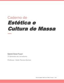 Caderno de Estética
