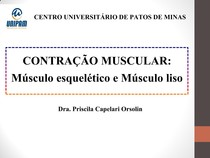 Aula 5. Contração Muscular
