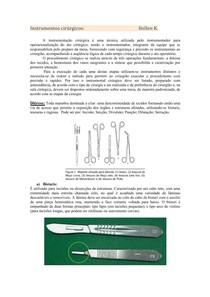 Instrumentos cirúrgicos (Hellen)