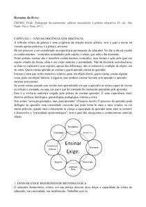Pedagogia Da Autonomia Paulo Freire Praticas Educacionais