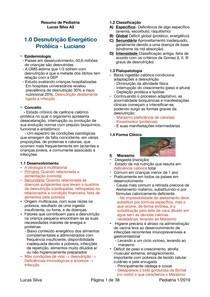 Resumo de Pediatria A2