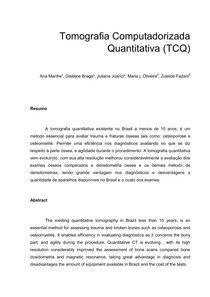 Tomografia Computadorizada Quantitativa