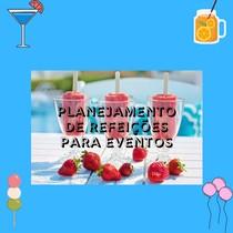 Planejamento de refeições para eventos