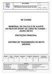 5 PROTEÇÃO PRINCIPAL REATOR DE LINHA SE CUIABÁ 2012 12 07 R00