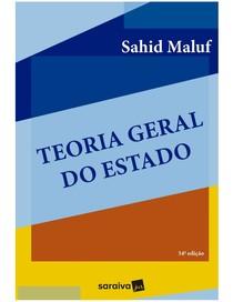 Teoria Geral do Estado Sahid Maluf 2018