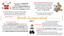 DOMICÍLIO - (2ª PARTE) - CIVIL I