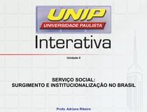 b452ff64bd Slides de Aula (31)SERVIÇO SOCIAL SURGIMENTO INSTITUCIONALIZAÇÃO NO BRASIL