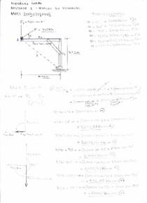 Atividade Estruturada - Mecânica Geral - Atividade 01