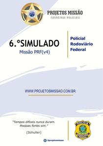 06 SIMULADO MISSAO PRF (v4) - Prf 58691f11b7